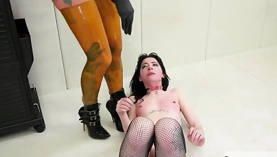 Rough hard castigation and adjacent bdsm gangbang This is our