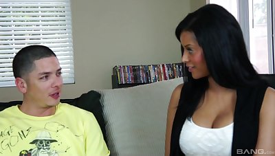 Mary Jean adores stranger's sperm in the first place her butt after good fuck