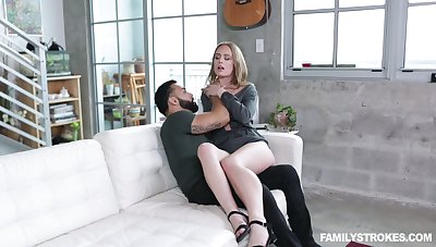 Whore wed Daisy Stone is cheating on her husband with his brother