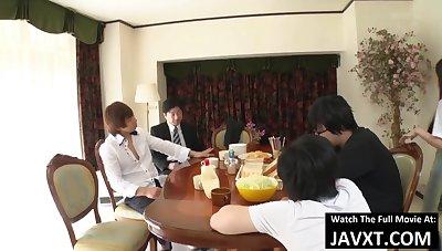 Japanese Family Dinner - japanese