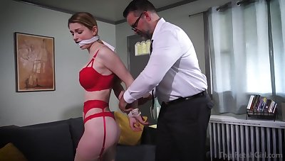Bookkeeper Bondage Hot Fetish Porn Clip