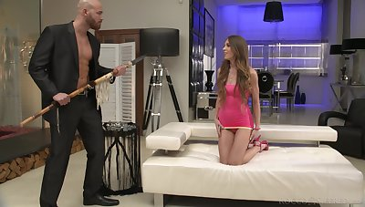 Brutal big guy fucks ass hole of out of this world babe Veronica Clark