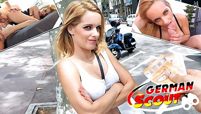 GERMAN SCOUT - TINY GIRL AGATHA TRICKED With respect to FUCK AT MODEL JOB