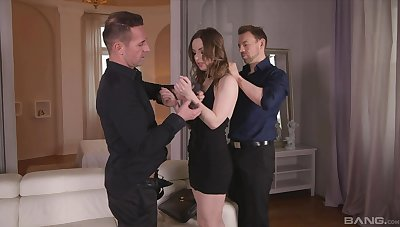 Dirty girlfriend Lilith Sweet fucked away from their way BF increased by his best friend