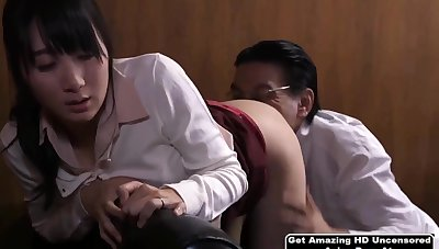 Shy Japanese Babe Gets Fucked Off out of one's mind Will not hear of Nabob